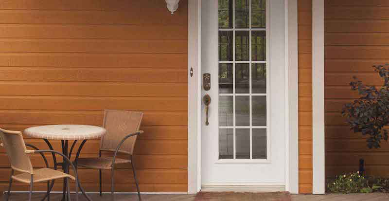 canexel fassadenpaneele aus holz kunststoff gemisch. Black Bedroom Furniture Sets. Home Design Ideas