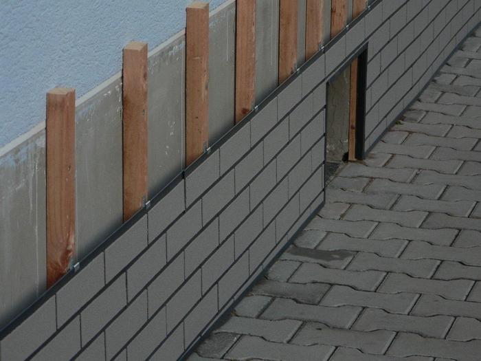 Fassadenplatten klimabrick - Gartenhaus fassadenplatten ...